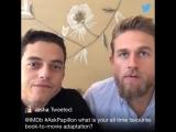papillon Q&A at IMDB's twitter account [4/8]