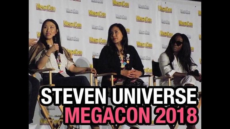 STEVEN UNIVERSE - Deedee Magno Hall, Michaela Dietz Estelle - MEGACON 2018!