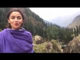 Alia Bhat Speaks & Offers You To Visit Kashmir / Индийская актриса Алия Бхат рассказывает о Кашмире и предлагает вам посетить Ка