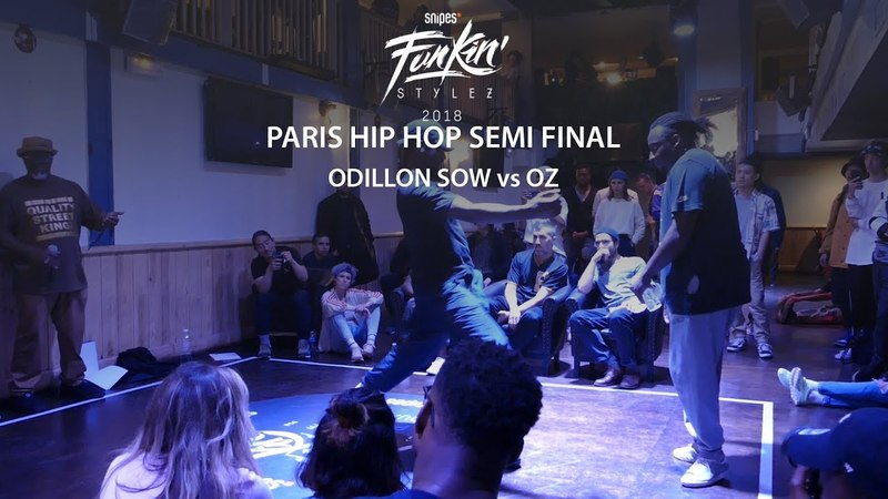 Funkin' Stylez Paris preselections - Hip hop semi final : Odilon Sow vs Oz