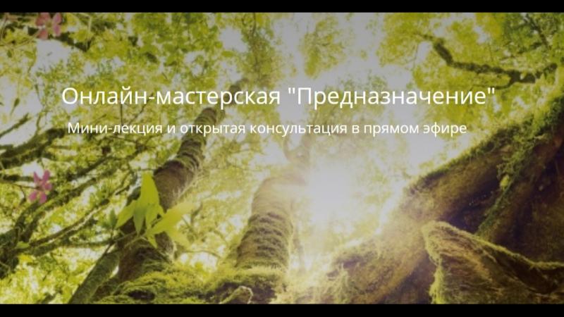 Ведущий мастерской Михаил Петрушин о юнгианском подходе к предназначению