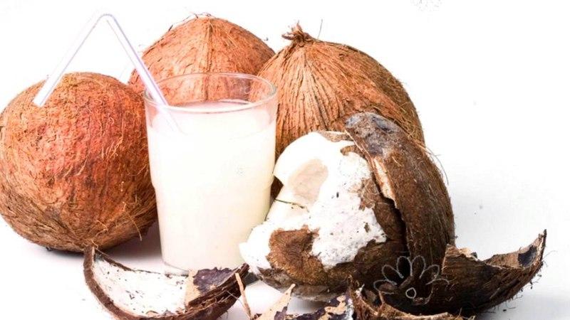 КОКОС ПОЛЬЗА И ВРЕД | мякоть кокоса польза, кокосовое молоко, сок кокоса польза и вред