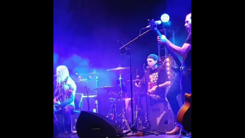 2018.01.25 Powerless Trio - Symphony of Destruction [Megadeth cover] (Raahe, Raahesali)