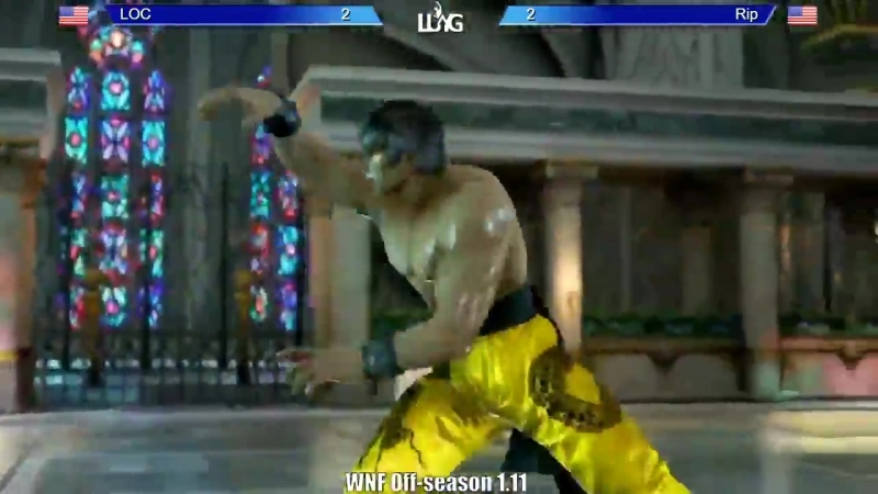 Tekken 7 WNF 1 11 Yes thats the sound of a chair being thrown