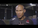 "Fight Night Charlotte  Jacare Souza - ""I Was Just Ready to Win"""