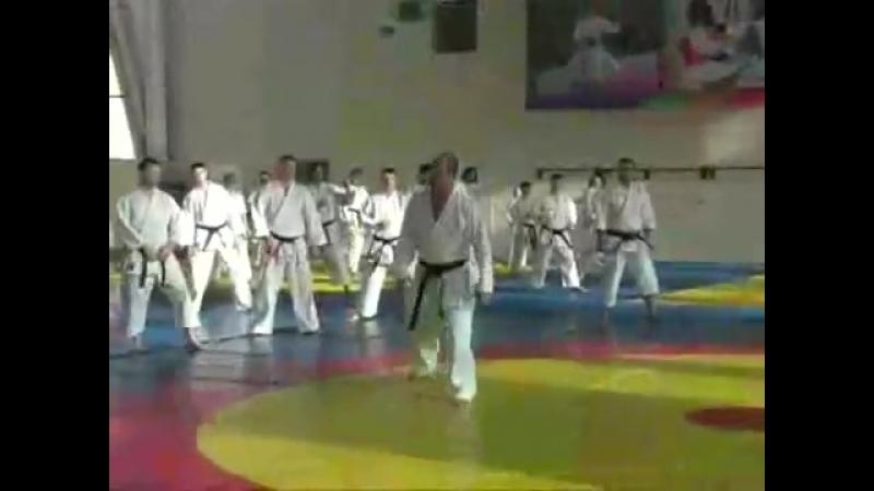 Seiji Nishimura. Seminar in Moscow 2010 (Speed Drills, Footwork)