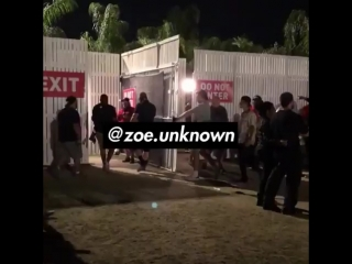 April 15: Fan taken video of Justin at the Coachella Valley Music and Arts Festival in Indio, California.