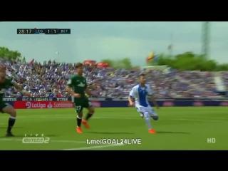 Видео-обзор матча Леганес  Бетис. Счет 3:2,
