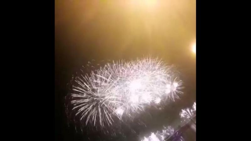 ✨🌟Невероятное зрелище 🎉 на Четвёртом Международном Фестивале фейерверков «Ростех» 19.08.2018.