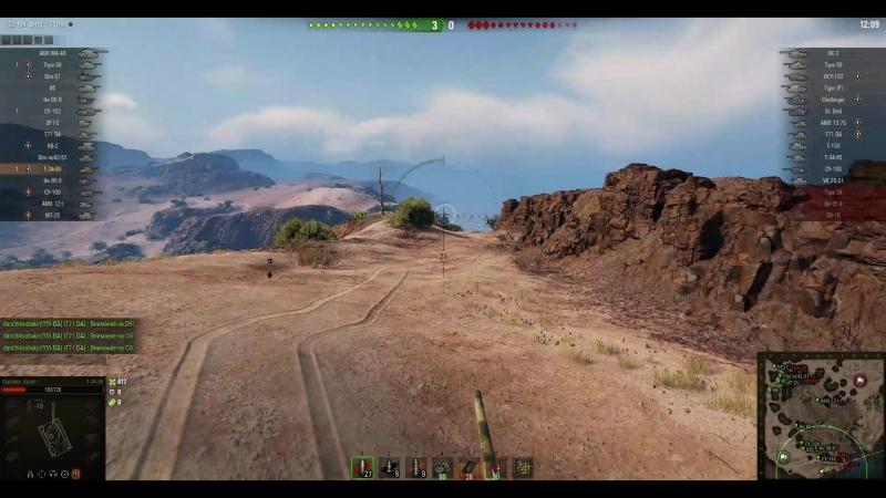 бой на Т34-85