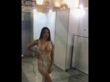 Анастасия Волконская-Решетова показала всю красоту своего сексуального тела. Модель эротика стриптиз красивая девочка голая секс