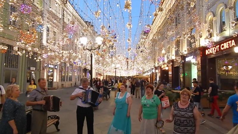 Москва 12.08.2018, на Никольской, Подмосковные вечера.