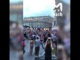 Самый модный трек в центре Москвы, да и по всей стране - гимн России.