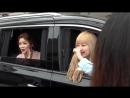 FANCAM 20.03.18 Sojin, Keumjo leaving Seoul Fashion Week `MAN.G` Collection