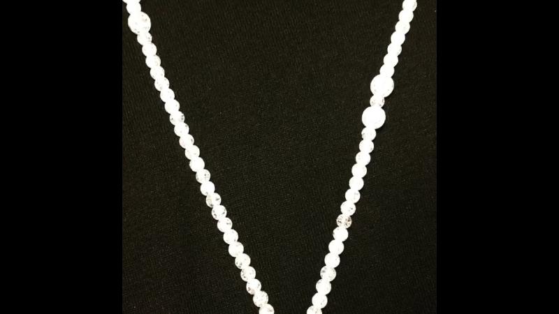 Мое творение 🙌🏻 Ожерелье ручной работы. По всем вопросам пишите в директ ✍🏻