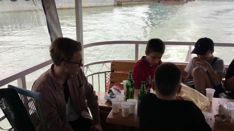 Школа гитары Константина Дорогина! Прогулка на теплоходе по реке Кубань! /Полное видео