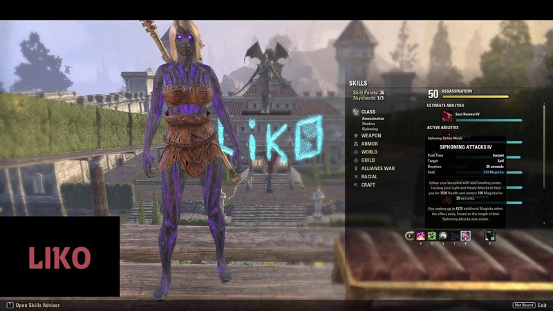 ESO - 2 Minute Guide on Magicka Nightblade Builds for Veteran Cloudrest Progression - Summerset