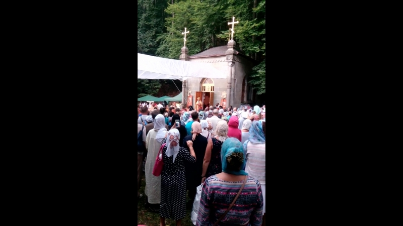 Проповедь епископа Августина в монастыре Косьмы и Дамиана Крым 2018