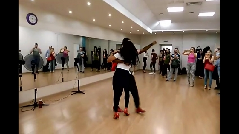 Adonis Santiago Yuliet Sanches/ Bachata/ Mambo group/ march 2018