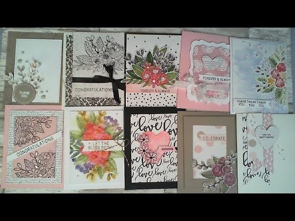 10 Cards - 1 Kit Simon Says Stamp June 2017 Kit CCT