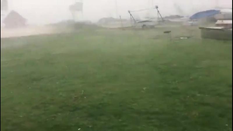 Буревій в Австрії,спричинений циклоном .