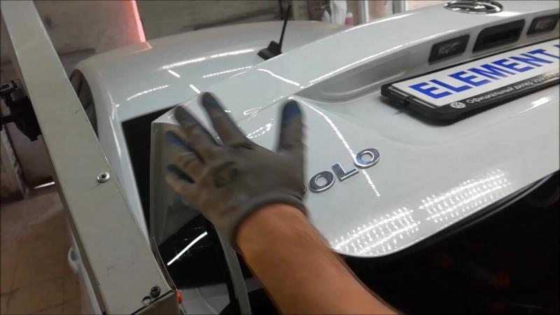Фольц Поло, сложная крышка багажника ,ограниченый доступ ,ремонт без спотера