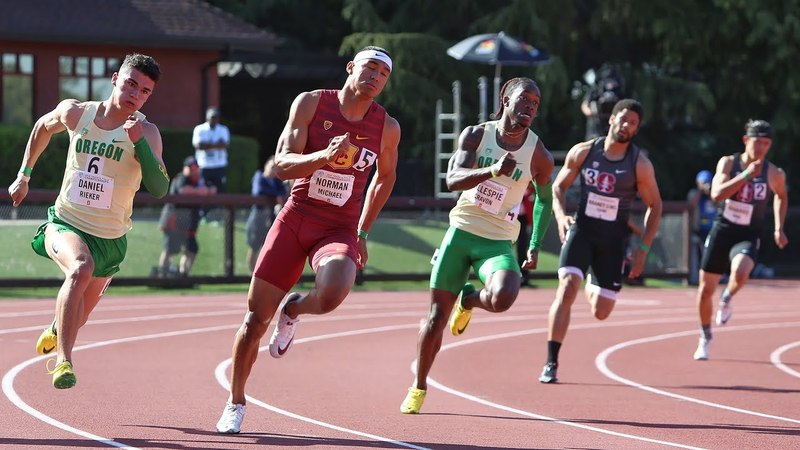 2018 Pac 12 Track Field Championships USC women and Oregon men claim team titles