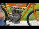 Buzz Kanter's 1915 Sons of Speed Harley Boardtrack Racer
