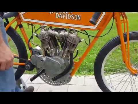 Buzz Kanters 1915 Sons of Speed Harley Boardtrack Racer