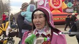 Праздник 9 Мая в Мирном завершил осуохай Победы