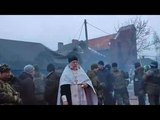 Slav Battlefield and a slav priest (Novorussia)