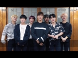[VK][180611] MONSTA X Greetings message @ THE 2ND WORLD TOUR The Connect in Mexico