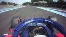 Pierre Gasly Goes Live From The Cockpit 2018 French Grand Prix