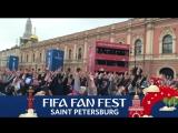 FIFA Fan Fest - русский дождик