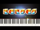 KANSAS CARRY ON WAYWARD SON Piano Tutorial
