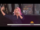 Meghan Trainor perform 'All About That Bass' live on TODAY телешоу «Today», Нью-Йорк, США.