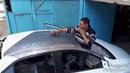 تصليح سياره تويوتا كورولا 2015 مقلوبه تصليح م1606