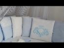 Набор в круглую и овальную кроватку Vinsent