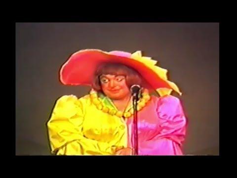 Chubby Oates as Dame Tilly Tart...Hazlitt Theatre Goldilocks Maidstone 1984-85 HD