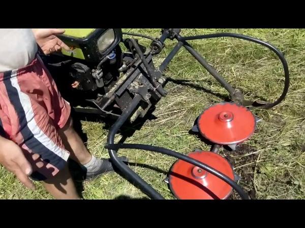 Обзор доработок роторной косилки для мотоблока 2017г
