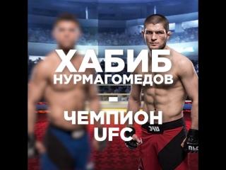Хабиб Нурмагомедов стал чемпионом UFC
