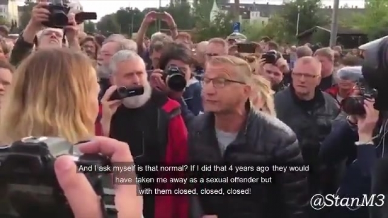 The Nazis in Chemnitz put a leftist female reporter in her place.