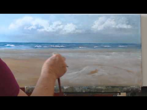 How to Paint a Beach Scene in Oils Session 5