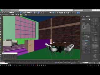 Loft Interior Room Tutorial (Best 3dsmax Render)
