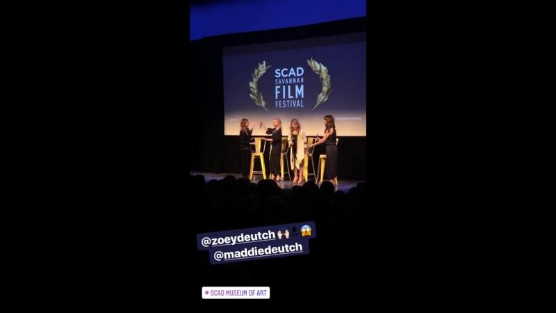 28 10 17 Саванна США Скриннинг фильма Год впечатляющего человека на кинофестивале SCAD Savannah Film Fest3