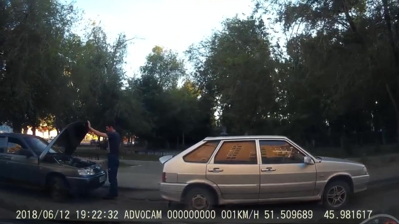 ДТП Саратов перекресток Чернышевского и Верхняя возле Би Би 12 06 2018