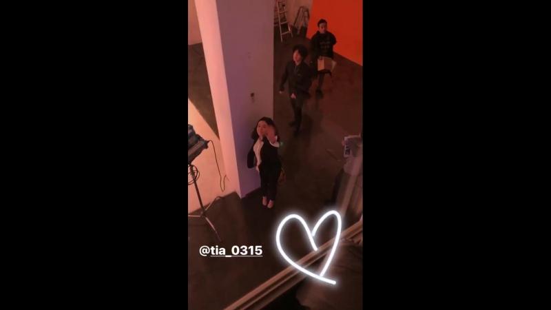 [In instagram (story) of @jinee__x 18. Mar. 2018]