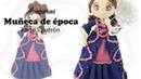 Amigurumi muñeca de época, parte 5/5 patrón gratis