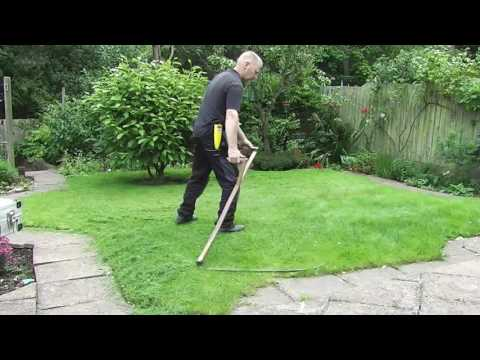How To Mow A Lawn With An Austrian Scythe