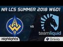 GGS vs TL Highlights NA LCS Summer 2018 W6D1 Golden Guardians vs Team Liquid by Onivia